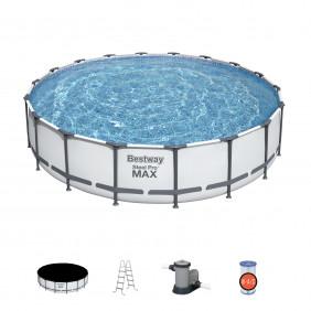 Каркасный бассейн Bestway Pool Set 549 см х 122 см