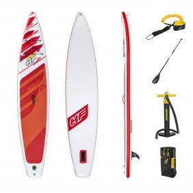 Надувная SUP-доска с набором Fastblast Tech 381 х 76 х 15 см с веслом, насосом, страховочным тросом и пр.