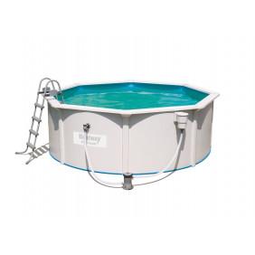 Каркасный бассейн Bestway Hydrium с фильтр-насосом 360х120см