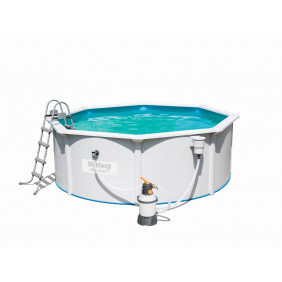Каркасный бассейн Bestway Hydrium с песч. фильтром 360х120см